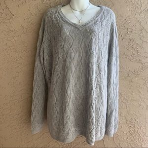 AVENUE Light grey Sweater